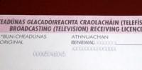 Tiesas lieta par TV licenci