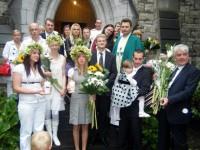 Kristības un iesvētības luterāņu draudzē Dublinā