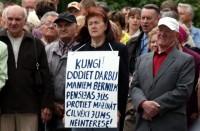 Budžeta pieņemšanu pavadīs protesta akcijas