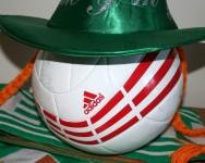 Īrijas nagla - futbols