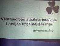 Latvijas uzņēmēju Biznesa kluba Īrijā tikšanās