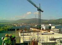 Īrijas celtniecības nozarē recesija palēninās