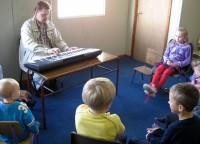 Nodarbības Korkas latviešu bērnu nedēļas nogales skoliņā