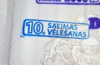 CVK apstiprina 10. Saeimas vēlēšanu rezultātus