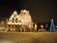 Premjera V. Dombrovska apsveikums Ziemassvētkos