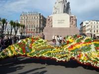 Premjera V. Dombrovska apsveikums 4. maija svētkos