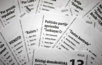 Izlozēti kandidātu sarakstu numuri 11.Saeimas vēlēšanās