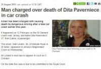 Džersijas tiesā apsūdzēts D.Pavārnieces bojāejas iespējamais vaininieks
