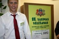 Zaļajā salā vēlēšanās piedalījās  983 vēlētāji
