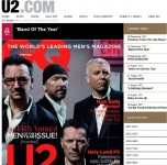 U2 saņem balvu un atklāj kinofestivālu