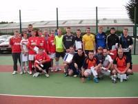 LAC mini futbola turnīrā atkal uzvar M. Spalviņa komanda