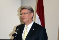 Zatleru neievēl Saeimas priekšsēdētāja amatā