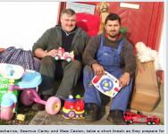 No Īrijas uz bērnu namu Latvijā ceļos labdarības sūtījums