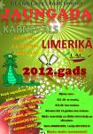 Jaungada sagaidīšanas karnevāls Limerikā