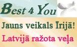 Ērtāka iepirkšanās -  internetveikalā  www.best4you.ie