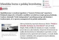 Poļu viesmīles stāsts izraisa vētru masu medijos