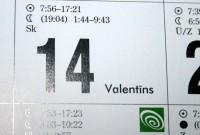 Valentīndienā vārda svētkus ārzemēs svinēs 73 Valentīni