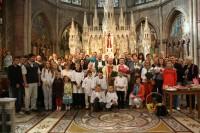Katoļu dievkalpojumi latviešiem Euharistiskā kongresa ietvaros