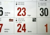 Ārzemēs vārda dienu svinēs 1994 Jāņi un 399 Līgas