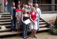 Skolotāju seminārā piedalījās arī Īrijas skoliņu skolotājas