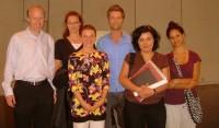 LCWA priekšsēdētāja pārstāv Īriju mazākumtautību konferencē Grieķijā
