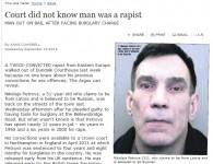 Īrijas tiesa nezina, ka zaglis no Latvijas ir arī izvarotājs