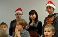 Navanas latviešu skoliņas un jauniešu apvienības apsveikums Jaunajā gadā