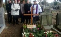 Piemiņas brīdis pie diplomāta Jāņa Meža kapa