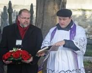 Piemiņas brīdis Mount Jerome kapsētā