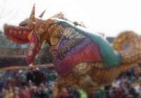 Tradicionālais ķīniešu Jaungada karnevāls Dublinā
