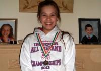 L. Kaugare izcīna bronzu Īrijas čempionātā