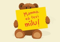 Latvijas Pasts aicina sveikt māmiņas, nosūtot unikālu bezmaksas pastkarti
