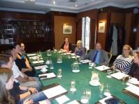 Vēstnieks tiekas ar Latvijas kultūras dienu Īrijā rīcības komiteju