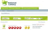 Viena no loterijas EuroMillions laimīgajām biļetēm nopirkta Īrijā