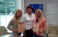 Latvijas jaunieši saņem Īrijas Prezidenta godalgas