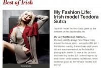 <em>Best of Irish</em> - latviete Teodora Sutra
