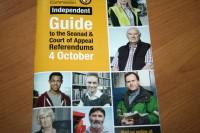 Šodien vēl var pieteikties vēlētāju reģistrā, lai balsotu referendumā