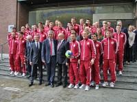Vēstniecība vēl veiksmi Latvijas nacionālajai futbola izlasei (papildināts)