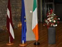 Pieņemšana Dublinā par godu Latvijas proklamēšanas 95.gadadienai