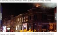 Beļģijā ugunsgrēkā bojā gājusi latviešu studente no Īrijas (papildināts)