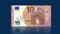Prezentē jauno 10 euro banknoti