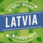 """Latvijas oficiālā Facebook lapa sasniedz 50 000 lielu """"fanu"""" skaitu"""