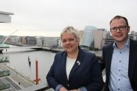 Īrijas Latvijas Tirdzniecības kameras pārstāvji tiekas ar uzņēmējiem Dublinā