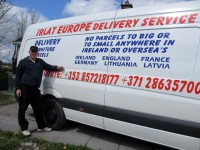 Kravu un sīkpaku pārvadājumi Īrija-Latvija-Īrija