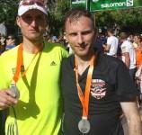 R. Zaķis un Dz. Kļava pieveic ultra maratonu