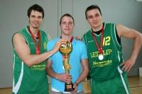<em>Leixlip BC</em> kļūst par čempioniem; M. Provizoram vēl viens tituls