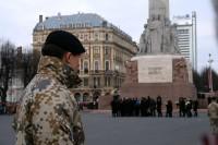 Vējonis aicina ASV atbalstīt sabiedroto spēku pastāvīgu atrašanos Baltijas valstīs