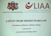 Latvijas pārtikas produktu ražotāji ieradušies tirdzniecības misijā Īrijā