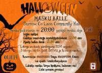 Helovīnu dienas masku ballīte Durrow