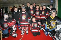 Īrijas jaunie hokejisti rāda, ko spēj!